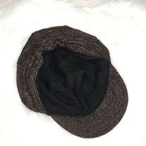 Unbranded Accessories - 🌸4 for $25 Knit brown and silver brimmed hat